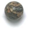 Semi-Precious 10mm Round Leopard Skin